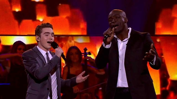 Seal & Harrison Craig Sing He Ain't Heavy He's My Brother: The Voice Aus...