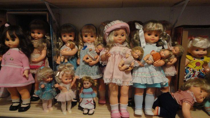 bonecas mãezinha modelos diversos