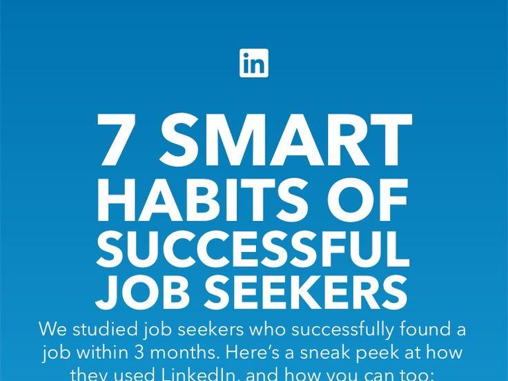 7 Smart Habits of Successful Job Seekers #veredus