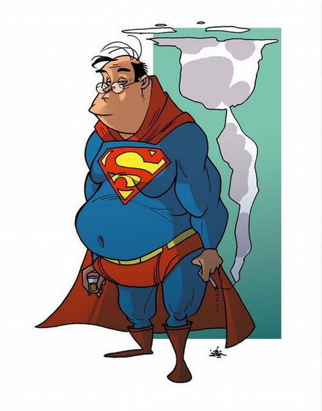 Old super heroes : SUPERMAN