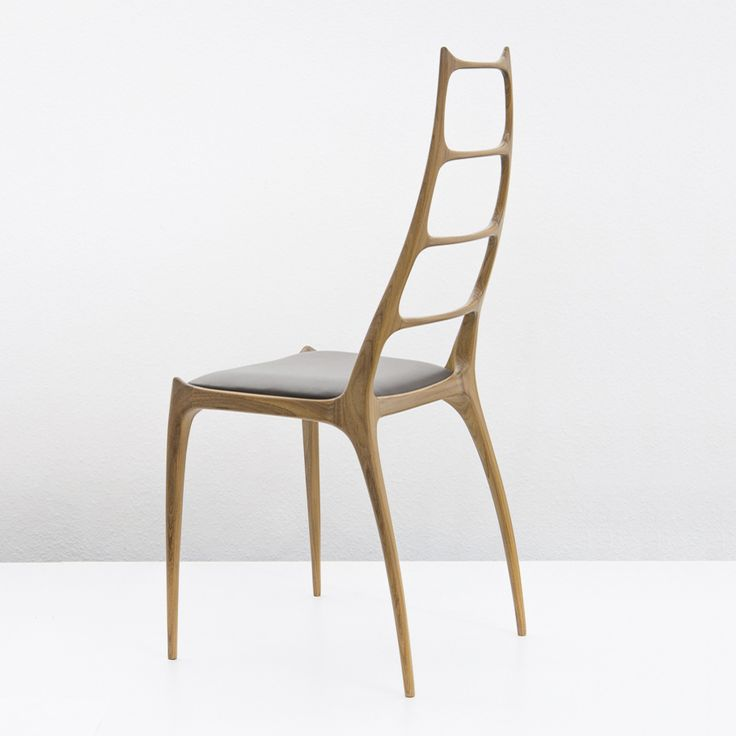 Chair H106.  Designed 1967 by Edmund Homa. Re-edition by POLITURA (2016)