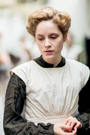Sophie Rundle as Eva Smith in An Inspector Calls (TV Movie, 2015).
