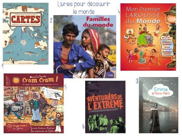 Sélection de livre pour découvrir le monde