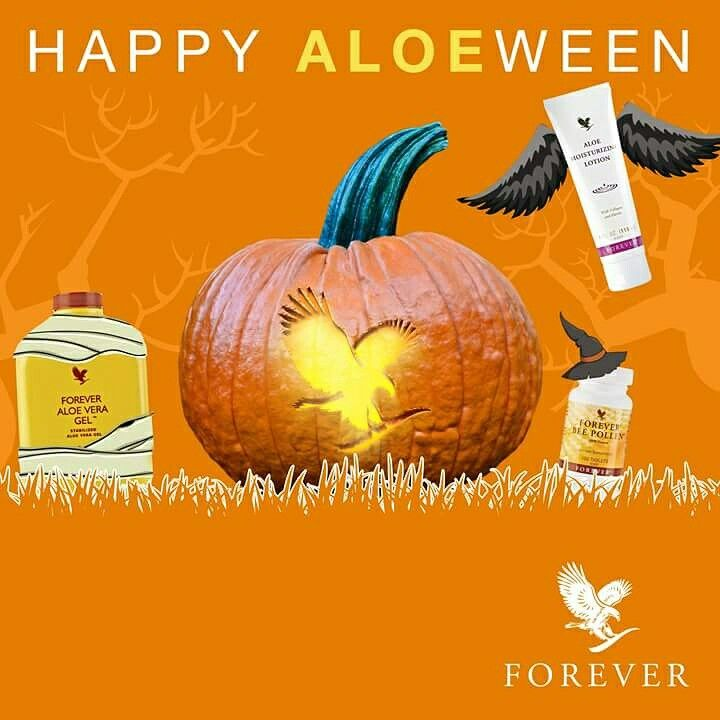 Look and feel good this Halloween !!!  #forever #living #aloe #Hertfordshire