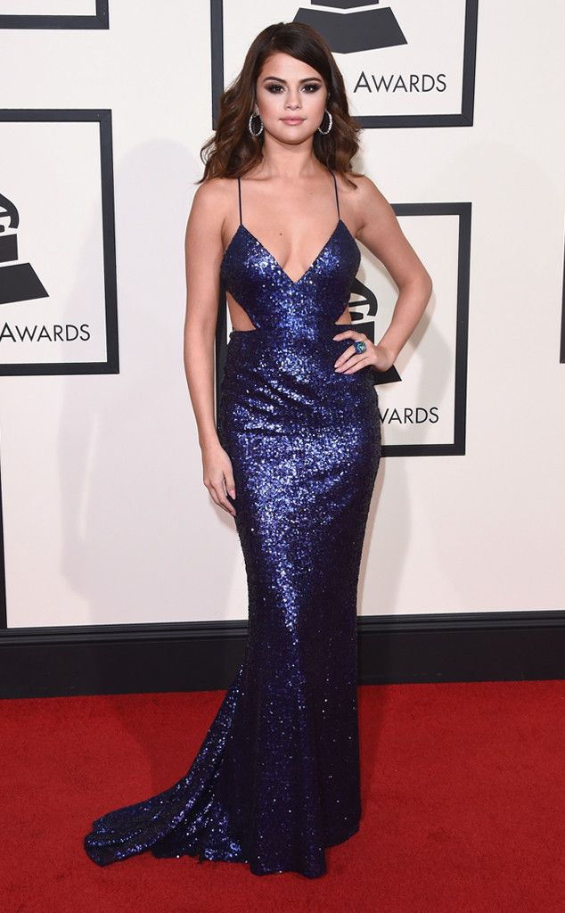 Selena Gomez from Grammys 2016: Red Carpet Arrivals | E! Online