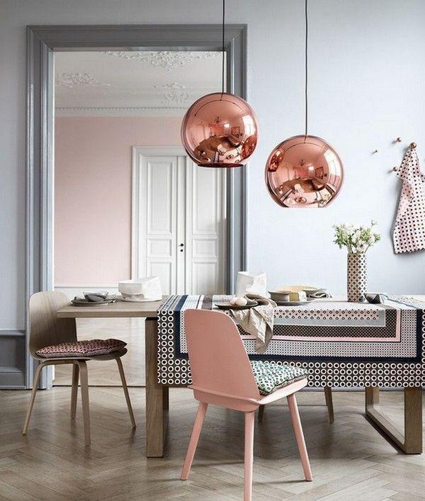 Пыльный розовый цвет в интерьере - тренд сезона - Дизайн интерьеров | Идеи вашего дома | Lodgers