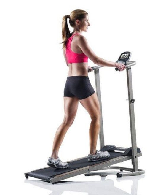 Treadmill Machine Folding Incline Cardio Fitness Exercise Portable Home Manual #Weslo