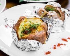 Papillote de pomme de terre aux herbes (facile, rapide) - Une recette CuisineAZ