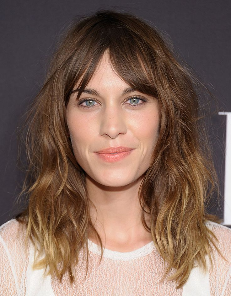 """I call it the bitchy bang because it lands right in your eyes"" — Jen Atkin on THE SAINT LAURENT SHAG as seen on Alexa Chung  