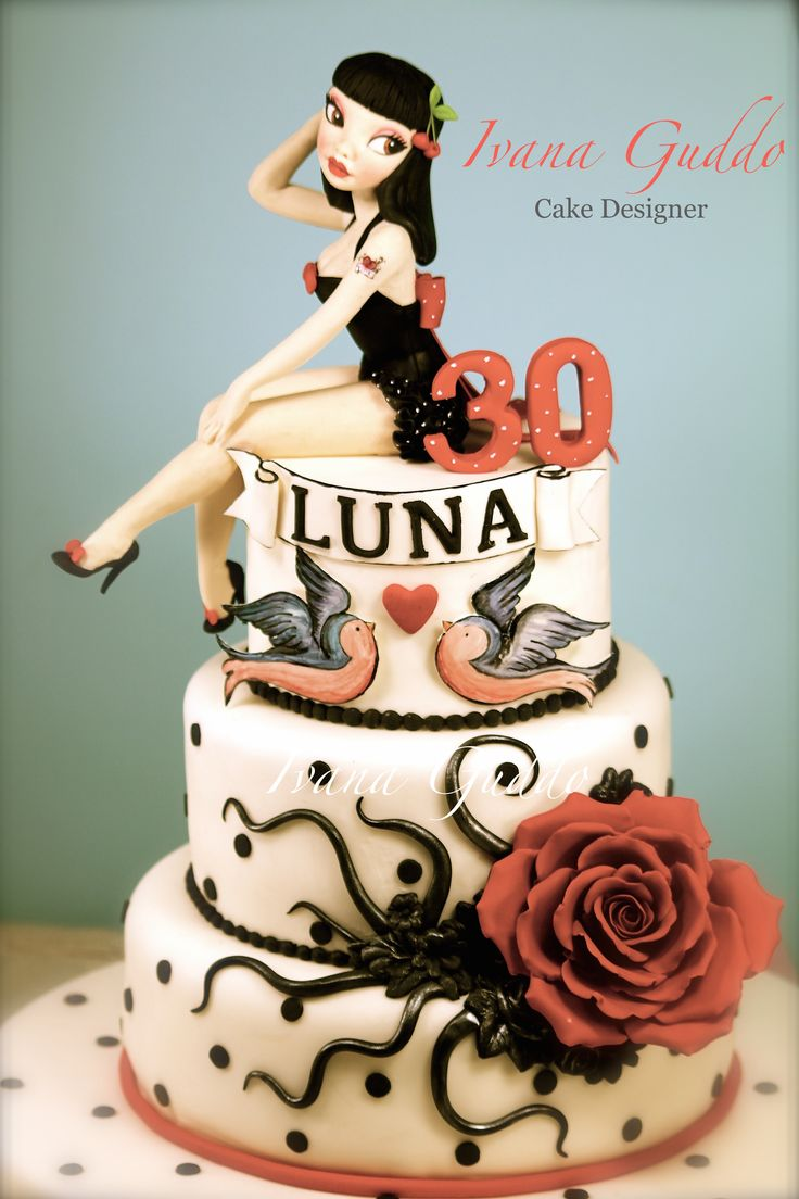 Pin up Rock cake https://www.facebook.com/Torte-di-Ivana-Guddo-317176505051760/timeline/?ref=hl