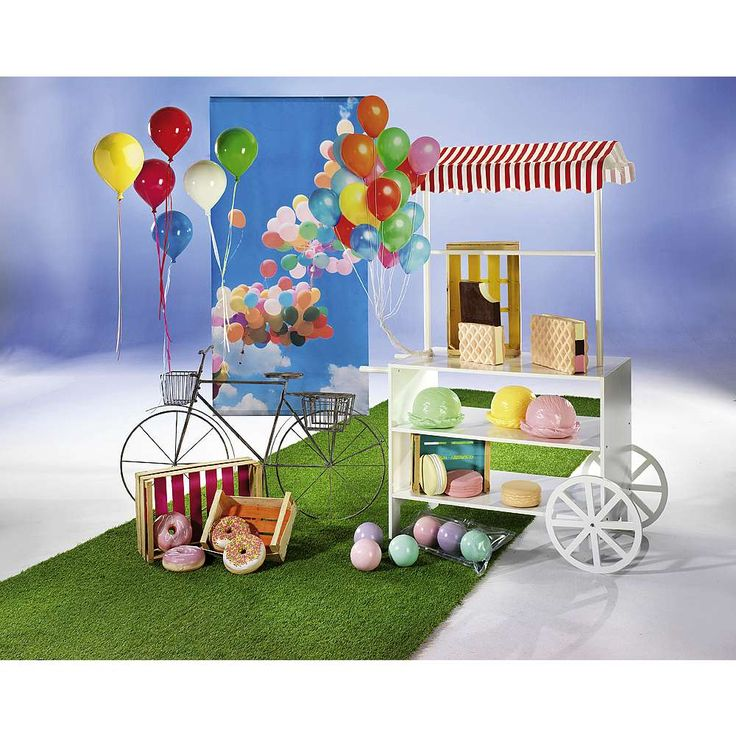 Deco Idea decorativa Helado y globos & Decoración en DecoWoerner