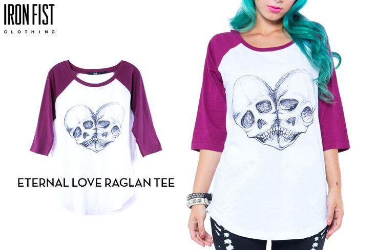 아이언피스트 ETERNAL LOVE RAGLAN TEE http://www.ironfist.co.kr/shop/goods/goods_view_ladies.php?goodsno=125  #ironfist #아이언피스트 #여자캐주얼 #래글런 #나그랑티 #티셔츠