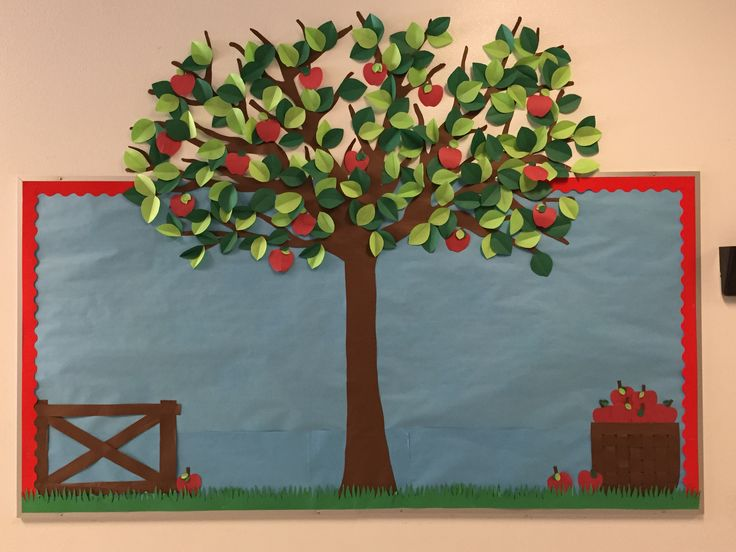 Apple Tree Bulletin Board