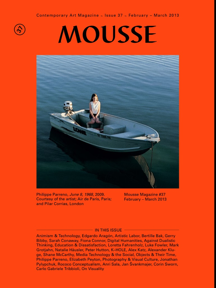 MOUSSE Magazine | Issue nº 37 February March 2013