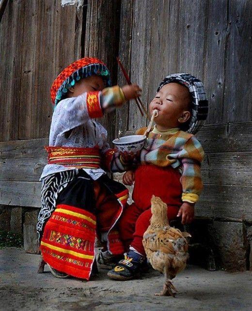 Cute Mongolian Kids