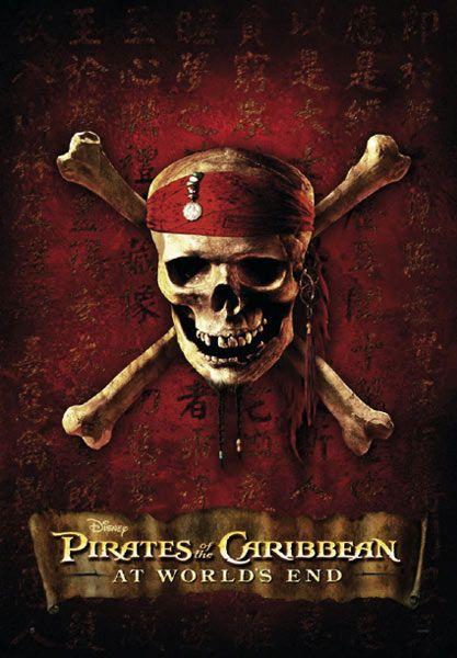 Poster Piratas del Caribe 3, En el fin del mundo (versión ...