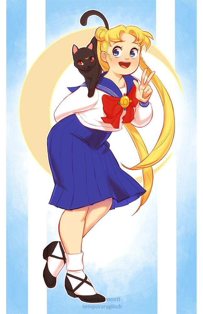 Image result for chubby usagi sailor moon | Magical shows