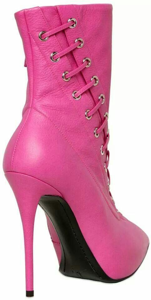 Giuseppe Zanotti boots in Fuchsia ~ Love,  ♥♥