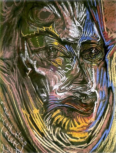 Witkiewicz, Stanislaw Ignacy (1885-1939) - 1930 Portrait of Michael Choromanski (National Museum, Wroclaw, Poland) by RasMarley, via Flickr