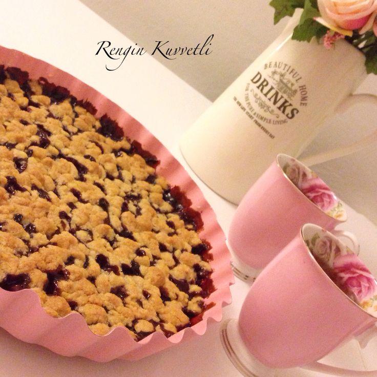 Vişneli Crumble / Cherry Crumble