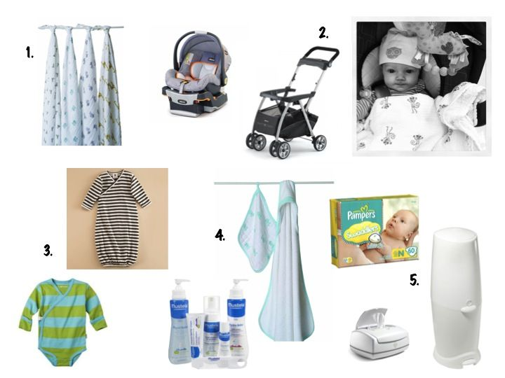 top 10 for new baby- super helpful for expectant mothers and shower-gift-buyers