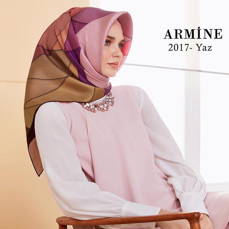 Armine 2017 ipek eşarp