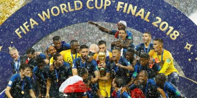 Hip Hip Hurrah France Wins World Cup Final 2018 Football World Cup In Russia When Pogba Mbappe Griezmann Sh World Cup Final 2018 World Cup Final World Cup