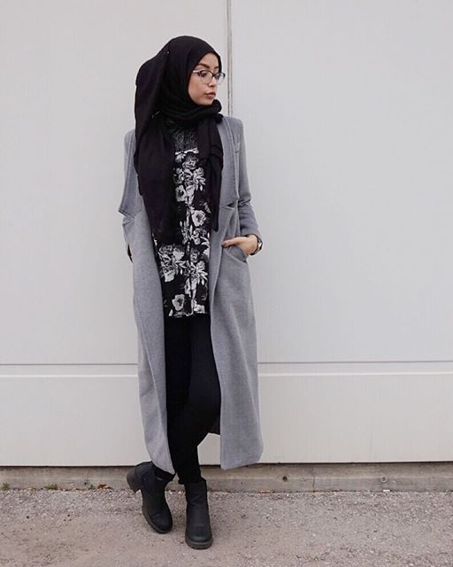 17 Best Images About Hijab Ootd On Pinterest Hijab Street Styles Maxi Cardigan And Hijab Chic