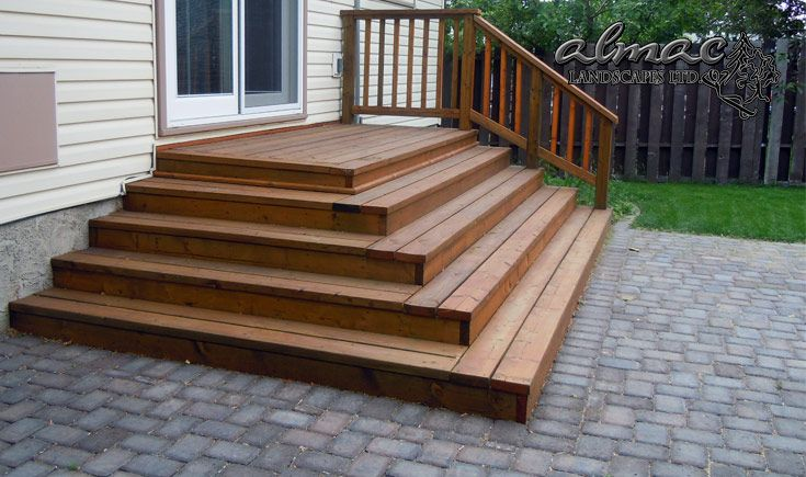 Almac Landscapes Ltd - Wood Stair Services