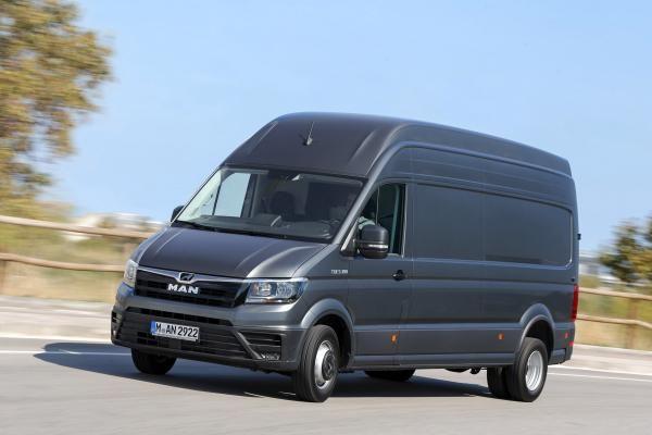 MAN TGE van review | vw crafter new | Vans, Men's vans