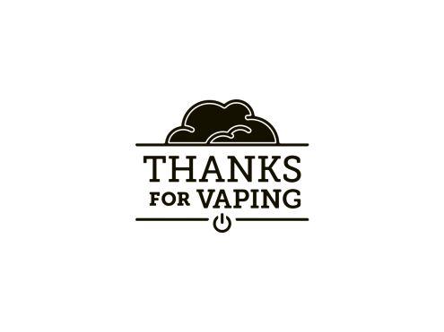 Thanks For Vaping Logo
