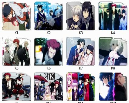 K-Project Anime Folder Pack Icon