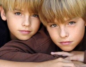 Dylan and Cole Sprouse as Conner and Travis Stolls ((I know there not twins but still and I got the idea from YouTube and Google ))