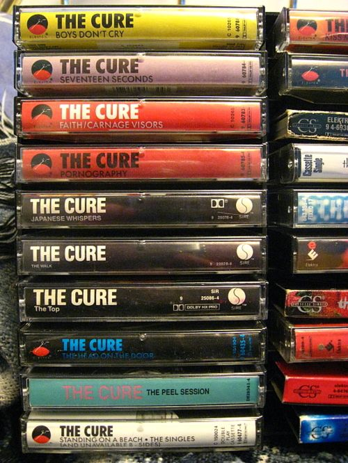 Looks my tape collection in middle/high school