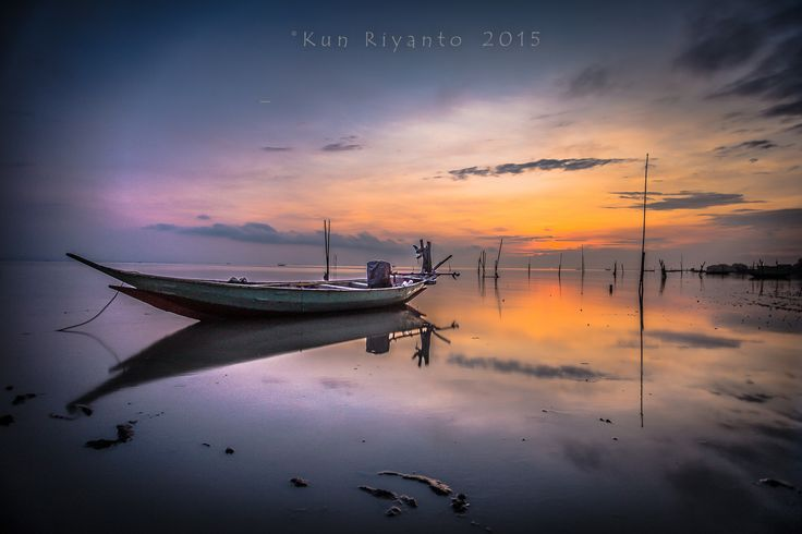 boat alone by Kun Riyanto on 500px