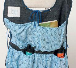 Car seat tie-on organiser. #Sewing #DIY #Craft #SouthAfrica