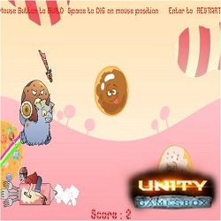 Now you can play the latest Arcade Unity Game Candypocalypse online here at this link:  http://www.unitygamesbox.com/games/candypocalypse/