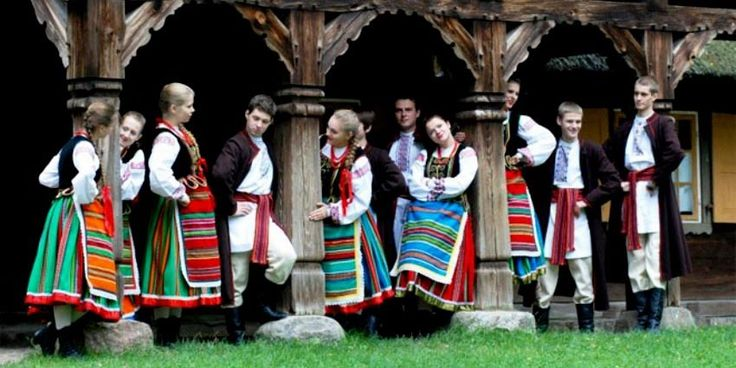Folk Costumes Podlaskie Poland - Traditional wear