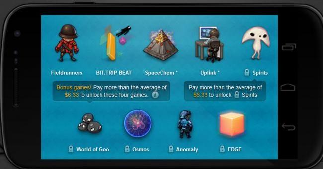Cuatro nuevos juegos para el Humble Bundle Android 3 http://www.xatakandroid.com/p/86546
