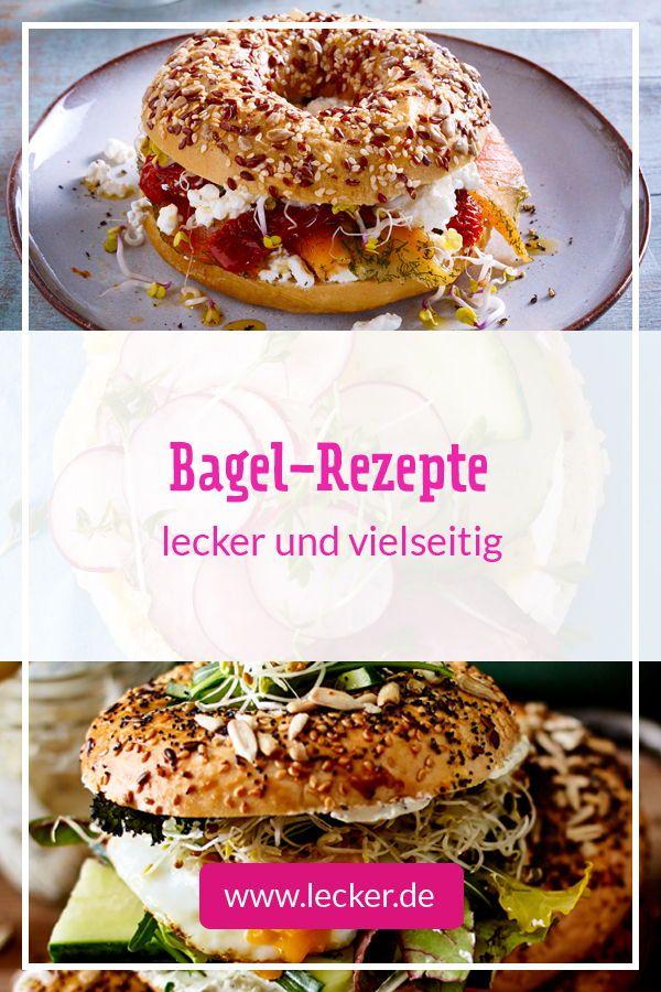 27 Bagel Rezepte Rezepte Lecker Und Einfache Rezepte Mittagessen