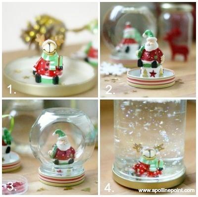 TUTO : Fabriquer une jolie boule à neige ( avec Apolline point en guest !) | Ma vie à croquer