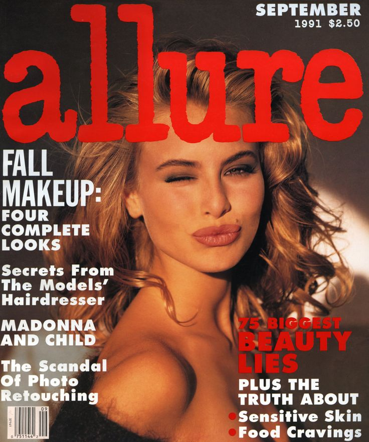 Niki Taylor Has Been on the Most Allure Magazine Covers Ever: Since Allure's first issue, in March 1991, Niki Taylor has appeared on 11 covers—that's more than any other model, actress, or musician in our 25-year history. So in honor of our silver anniversary, we asked our top cover star to take us on a trip down memory lane. -- September 1991 | allure.com