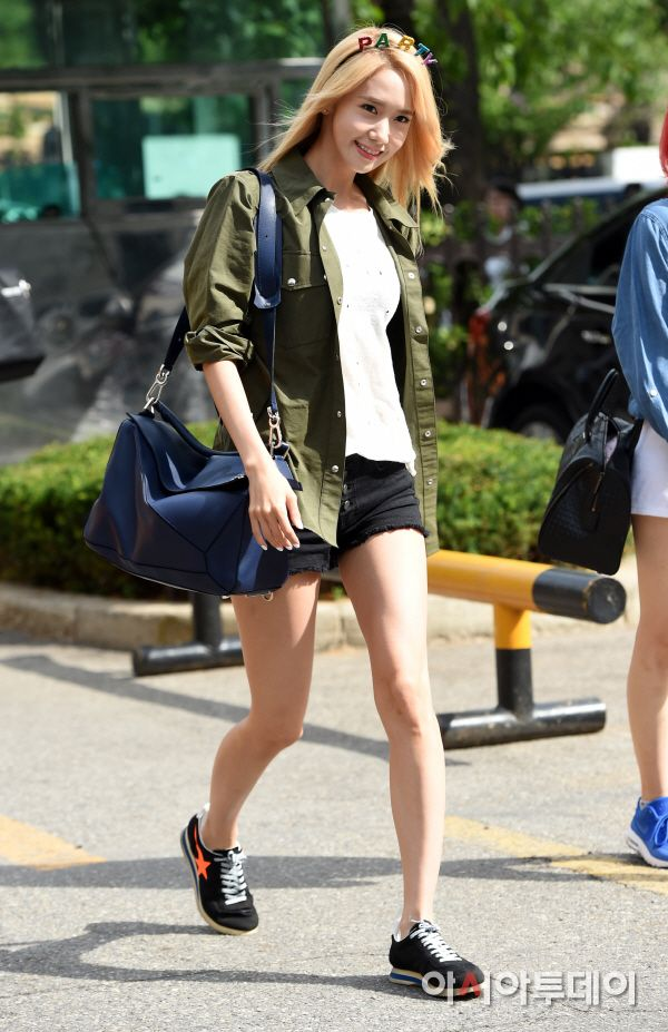 SNSD Yoona Kpop Fashion 150710 2015