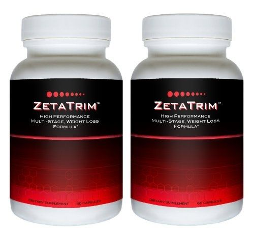 good ZetaTrim (2 bottles) - High Performance Multi Stage Fat Burning Supplement. Best Appetite Suppressing, Weight Loss, Diet Slimming Pill, Slim Down Quickly, Lose weight fast products-i-love products-i-love