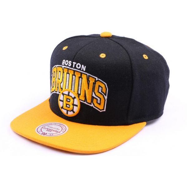 Casquette snapback Boston Bruins Noir et Orange #bonplan #promo #snapback @mitchell_ness 40% de remise #nba #nhl #nfl