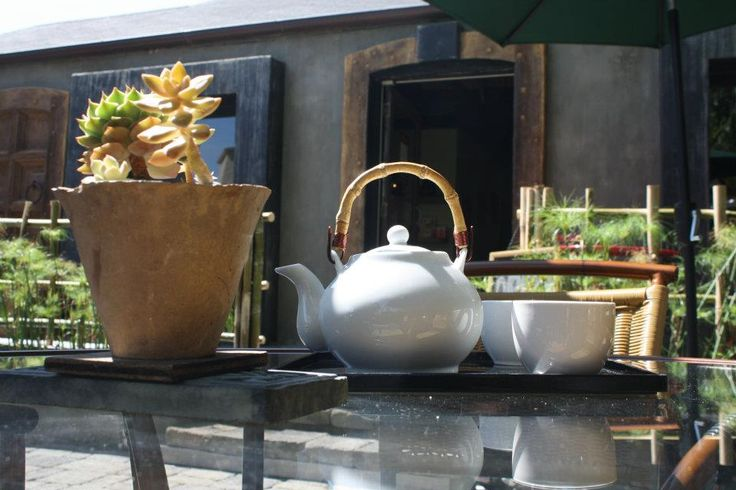 The colors that make up the tea rainbow can be found at the Tea Garden & Herbal Emporium in West Hollywood. Located on trendy Melrose Avenue and close to the Pacific Design Center, the store is a quiet place full of vegetation, peaceful music, and koi ponds. They offer an extensive library of hot and cold tea's that come in a number of unique flavors to match or change your mood. Visit www.xplorela.comMelrose Avenue, Design Center, Cold Teas, Pacific Design, Koi Ponds, Quiet Places, Places Full, Peace Music, Extensions Libraries