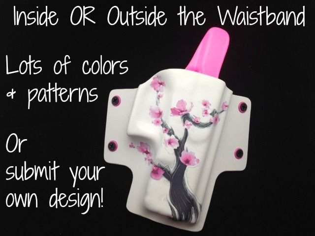 Wear it inside or outside the waistband, by re-positioning the clips. Pick your colors or patterns and make it your own!