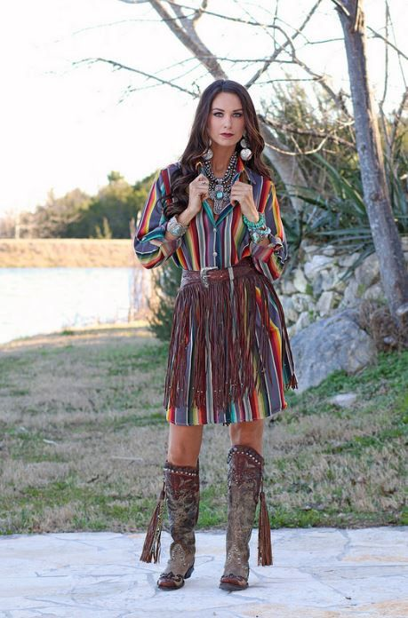 This Outlaw Fringe Belt is the epitome of western chic! A sassy and stylish fringe belt that adds western flair to every outfit! With a hand tooled leather belt, and fluted beads at the end of the fringe, this belt is beyond unique! Pair it with a stunning J. Alexander Belt Buckle with Turquoise (sold separate) to add a pop of color!! ** Please note we will be receiving smaller sizes soon!**