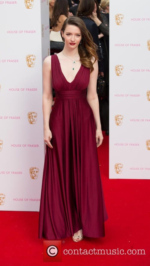 Tallulah Riley at the House of Fraser Television BAFTA's