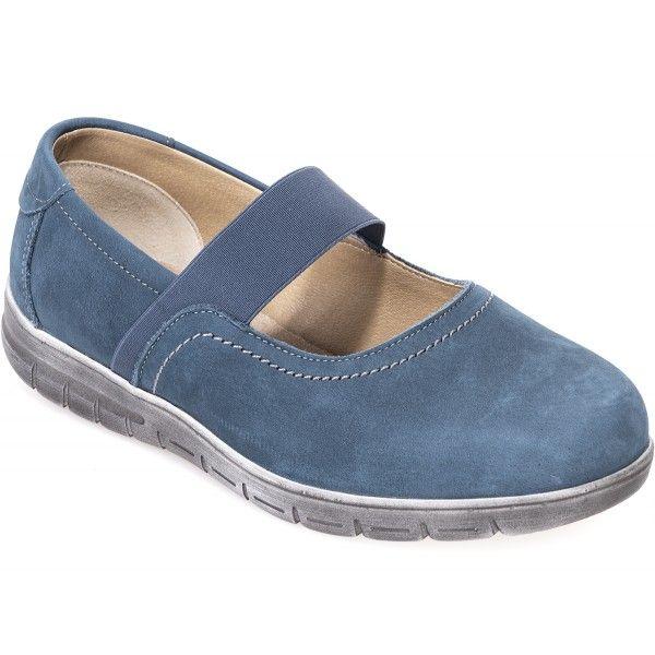 Cosyfeet Amelia Extra Roomy Womens Fabric Shoes 6E Width